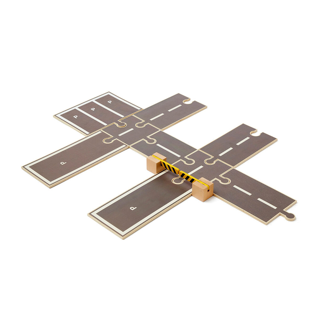 Kids Concept Aiden Wooden Car Track Extension - 1