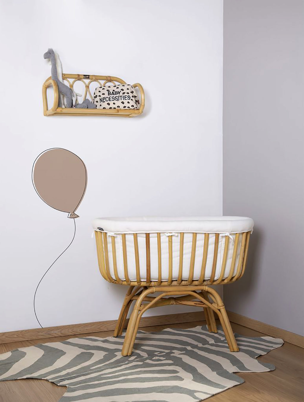 Childhome Rattan Shelf - 4
