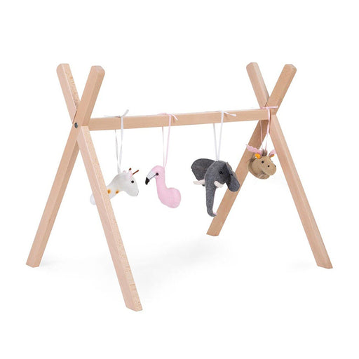Childhome Tipi Play Gym Frame - Natural - 1