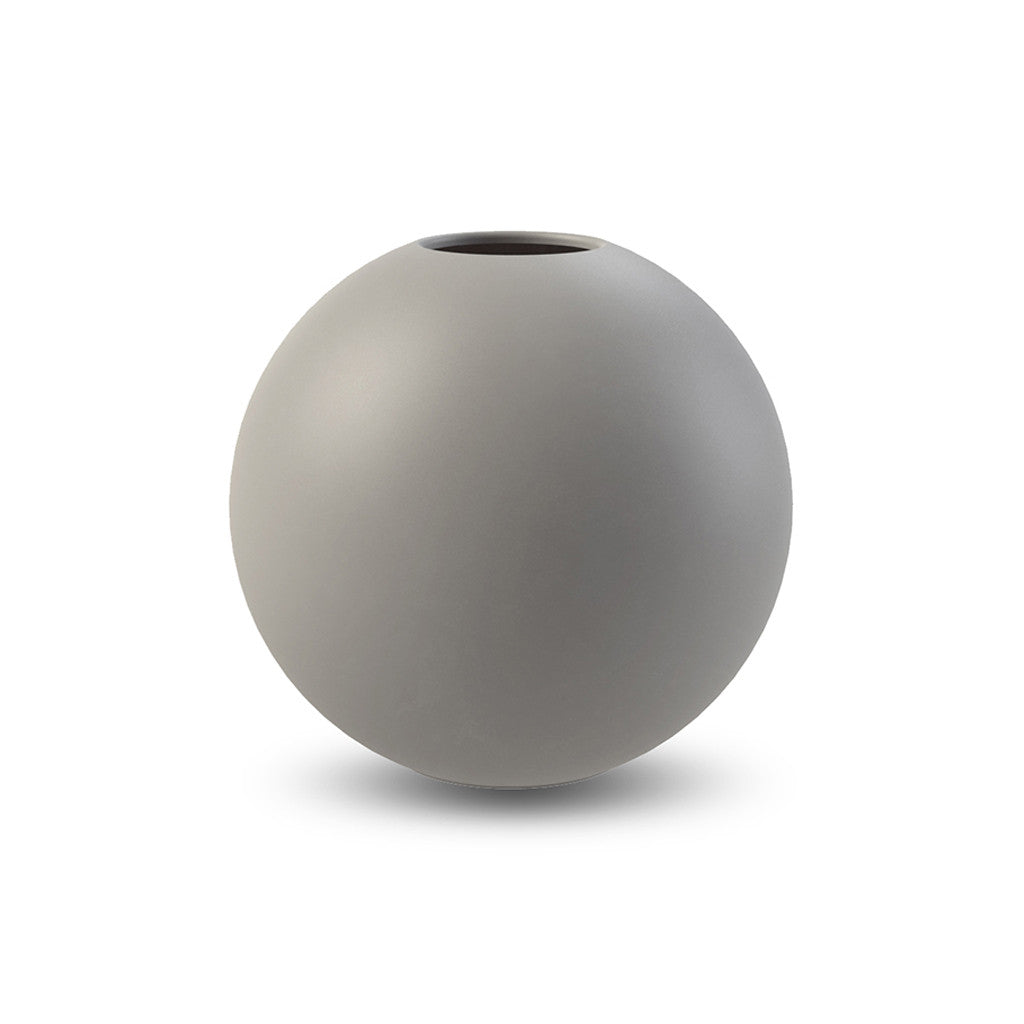 Cooee Design Grey Ball Vase - Large
