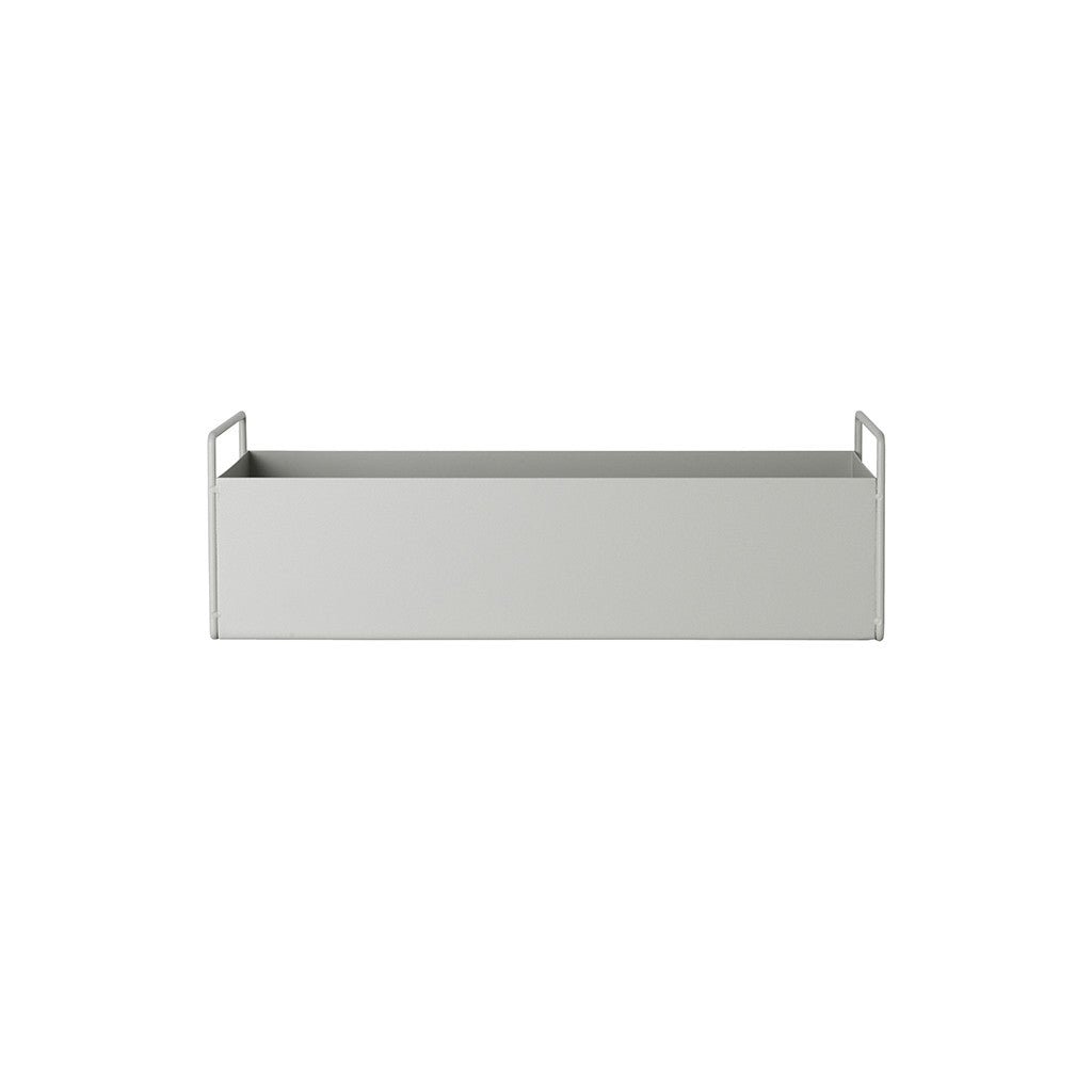 Ferm Living Small Plant Box - Light Grey - Is To Me - 1