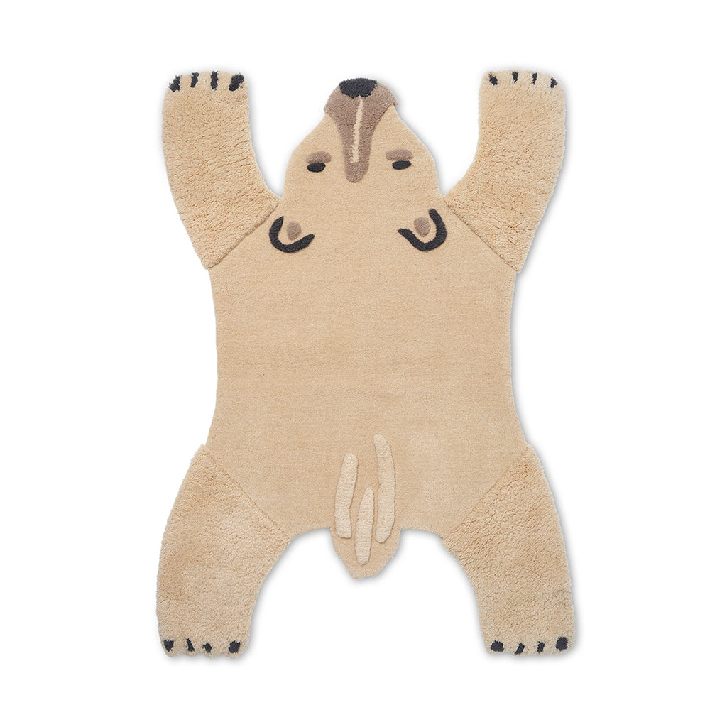 Ferm Living Safari Rug - Polar Bear - 1