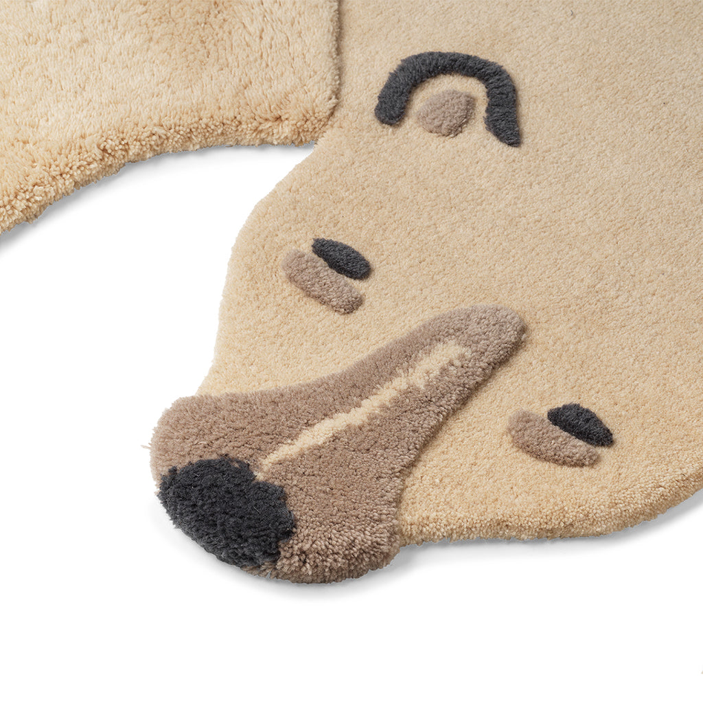 Ferm Living Safari Rug - Polar Bear - 3