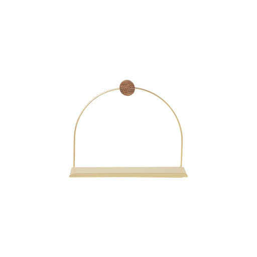 Ferm Living Bathroom Shelf - Brass - 1