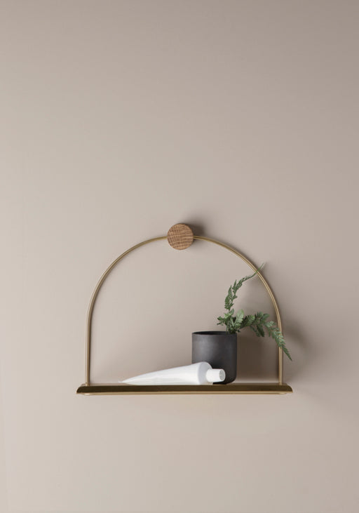 Ferm Living Bathroom Shelf - Brass - 2