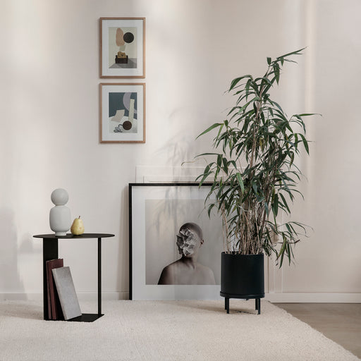 Ferm Living Bau Large Plant Pot - Black - 2
