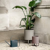 Ferm Living Bau Large Plant Pot - Warm Grey - 2