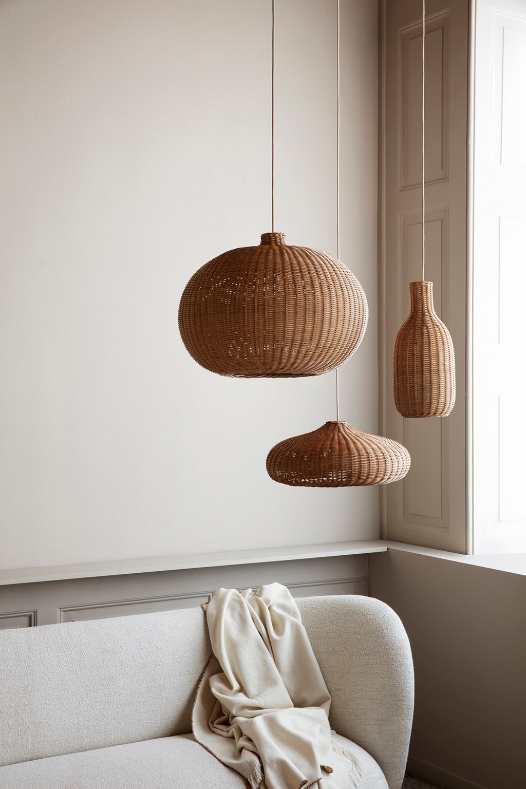 Ferm Living Belly Braided Lampshade - 3