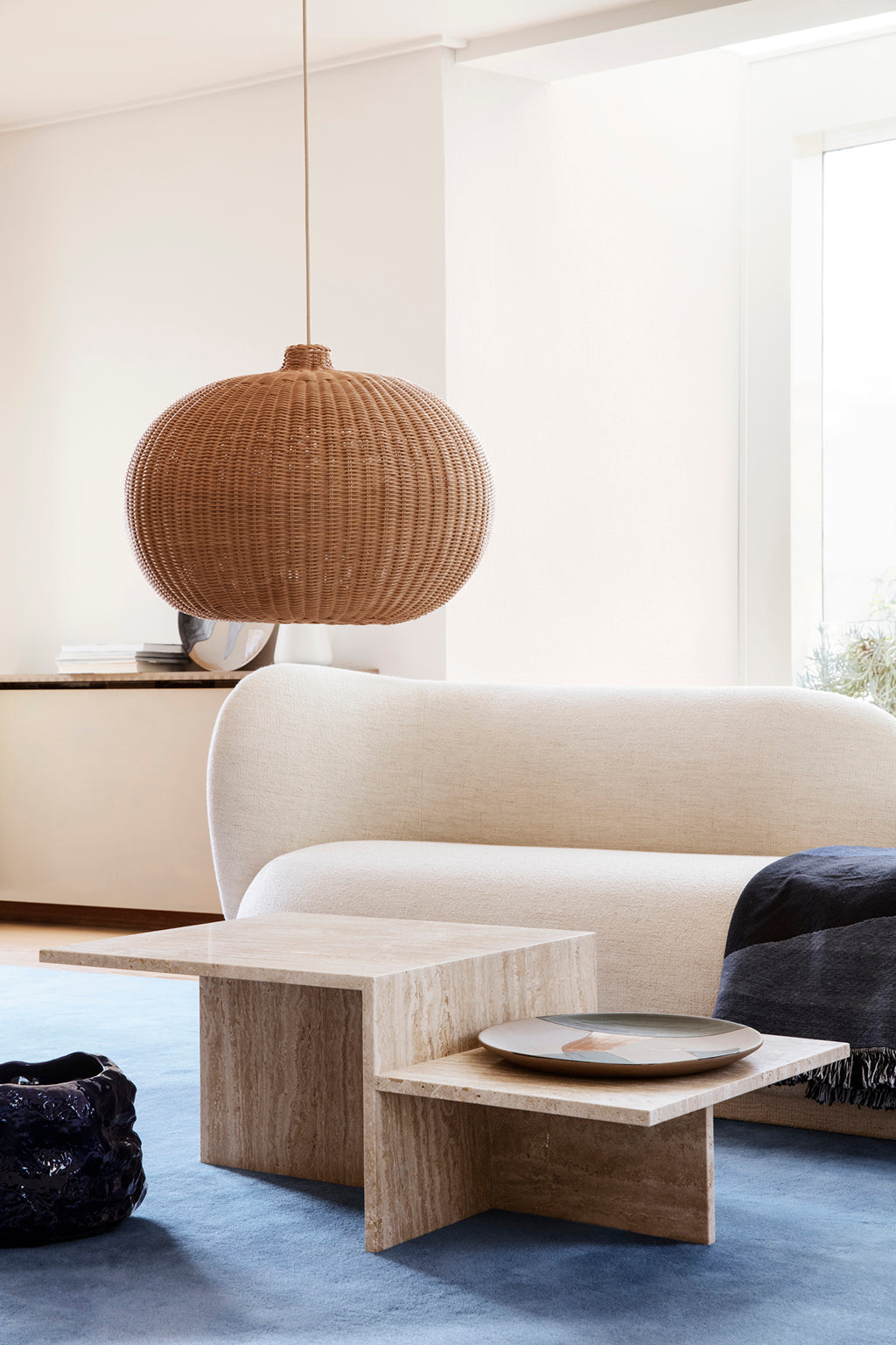Ferm Living Belly Braided Lampshade - 2