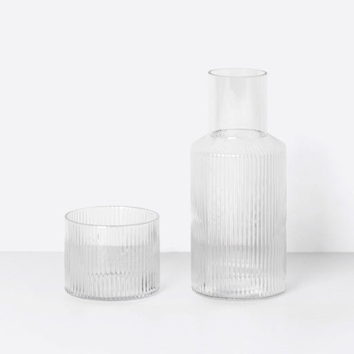 Ferm Living Ripple Small Carafe Set - 1