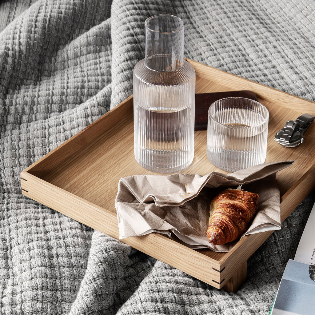 Ferm Living Bon Wooden Tray - Small - 2