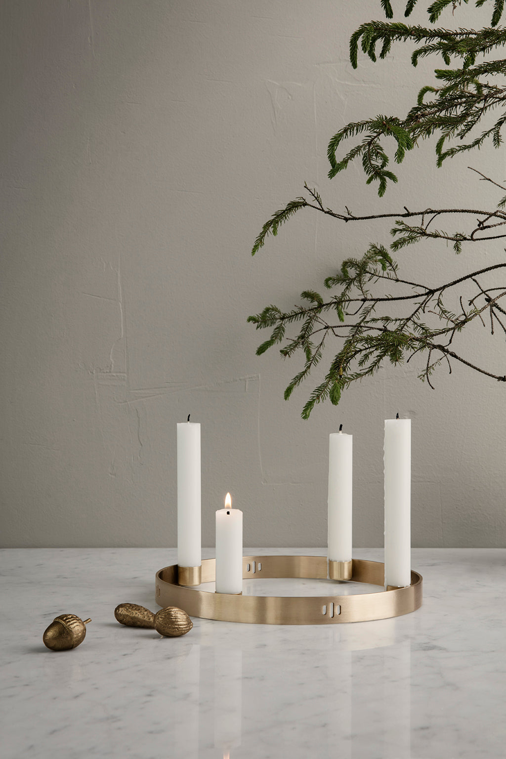 Ferm Living Candle Holder Circle - Small - 3