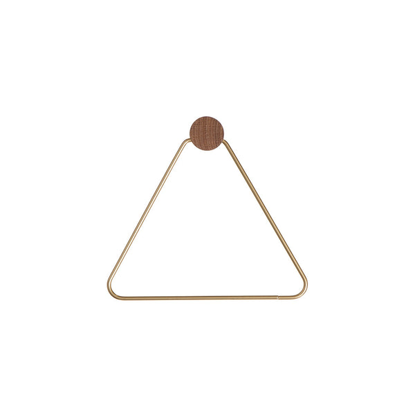 Ferm Living Brass Toilet Paper Holder - 1