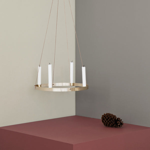 Buy Ferm Living Candle Holder Circle Small Is To Me