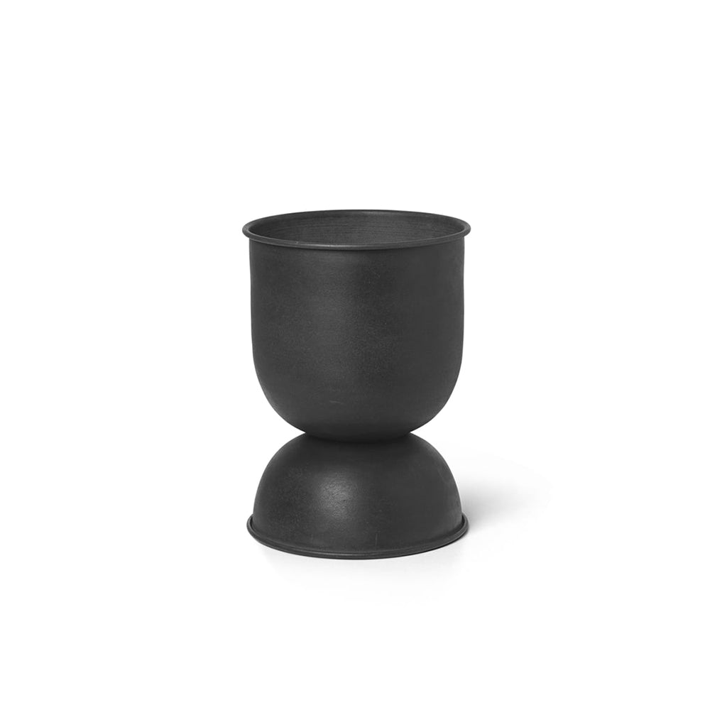 Ferm Living Hourglass Pot - Black - 2