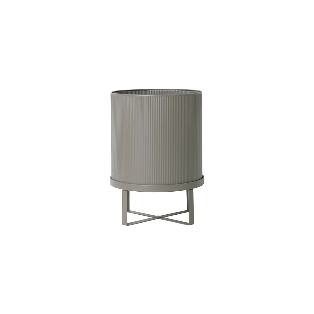 Ferm Living Bau Large Plant Pot - Warm Grey - 1