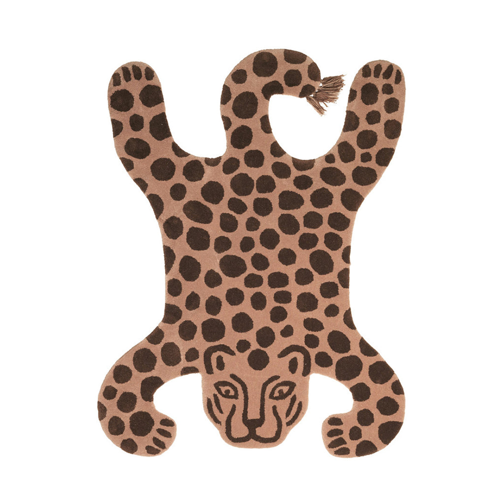 Ferm Living Safari Tufted Rug - Leopard - 1