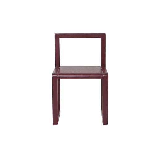 Ferm Living Little Architect Chair - Bordeaux - 1