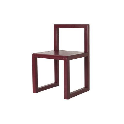 Ferm Living Little Architect Chair - Bordeaux - 2