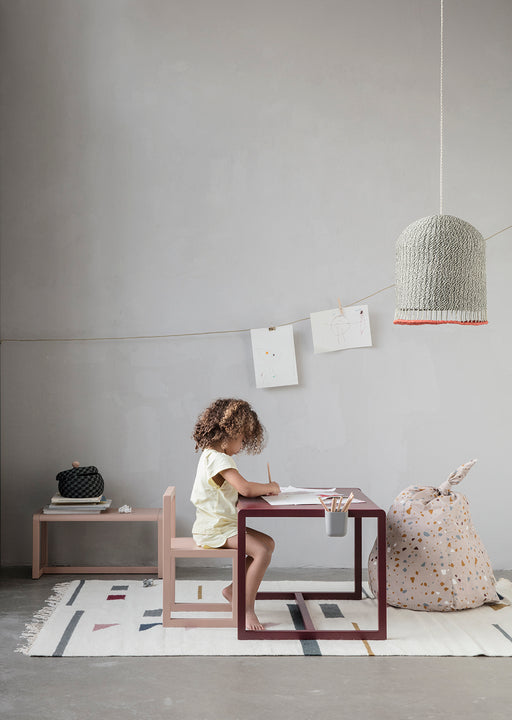 Ferm Living Little Architect Table - Rose - 2