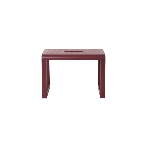 Ferm Living Little Architect Stool - Bordeaux - 1