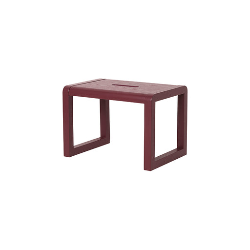 Ferm Living Little Architect Stool - Bordeaux - 2
