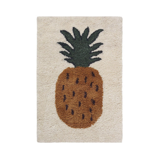 Ferm Living Fruitcana Pineapple Rug - 1