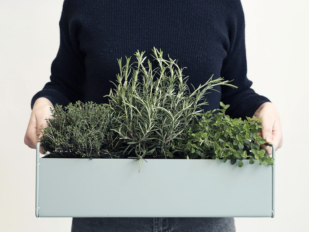 Ferm Living Small Plant Box - Light Grey - Is To Me - 2