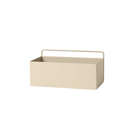 Ferm Living Rectangle Wall Box - Cashmere - 1