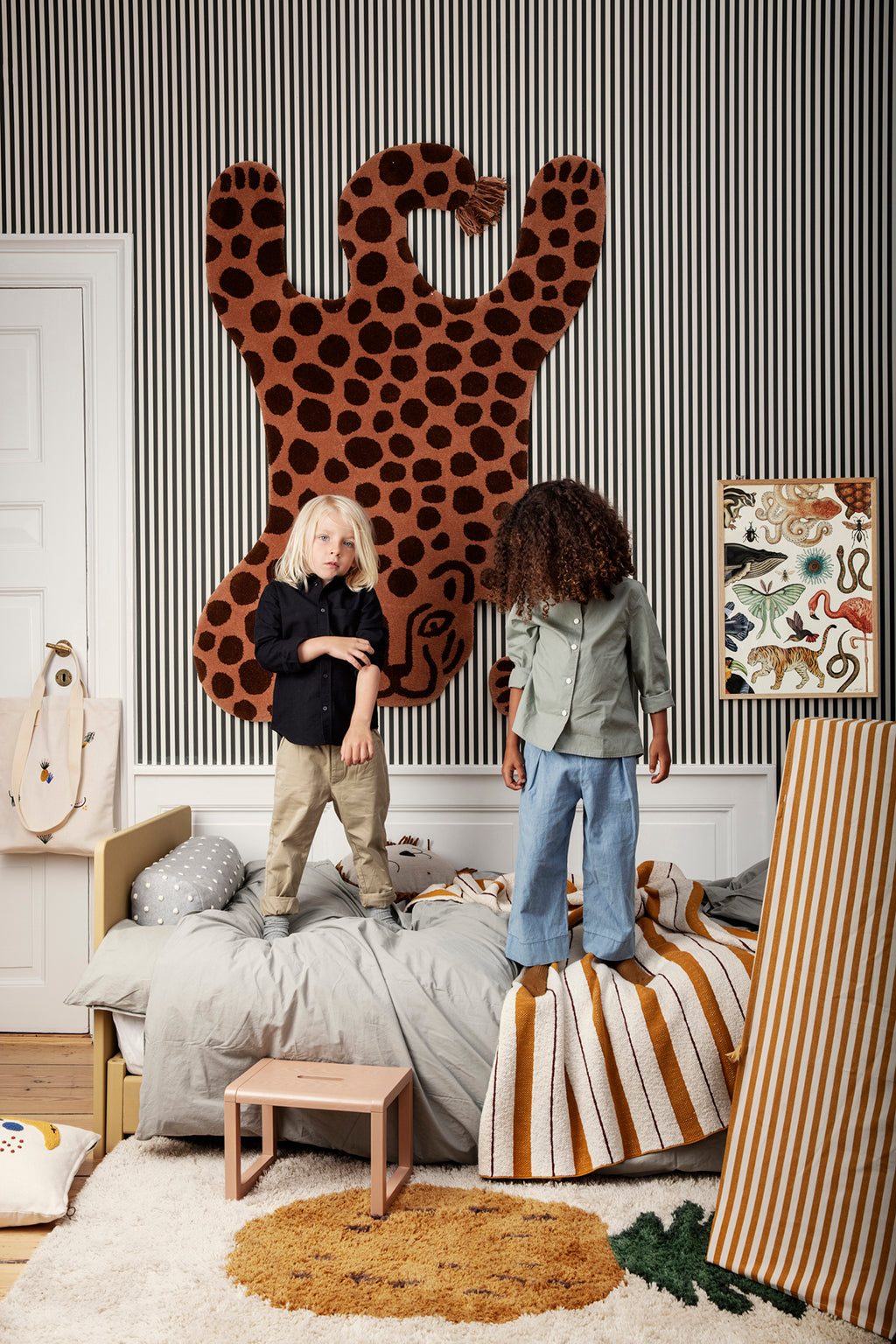 Ferm Living Safari Tufted Rug - Leopard - 3