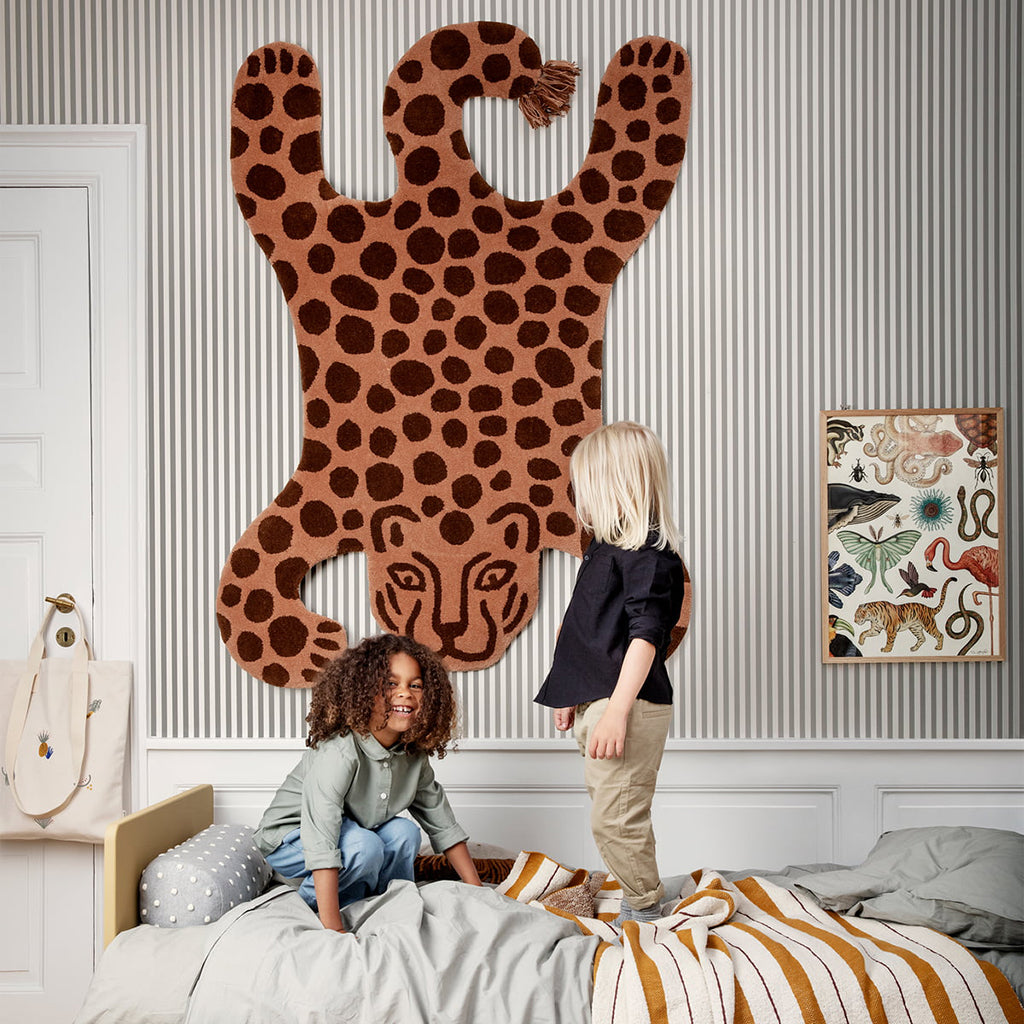 Ferm Living Safari Tufted Rug - Leopard - 2