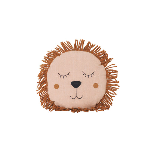 Ferm Living Safari Lion Cushion - Rose - 1