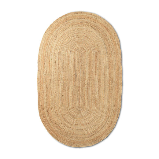 Ferm Living Eternal Oval Jute Rug - Small - 1