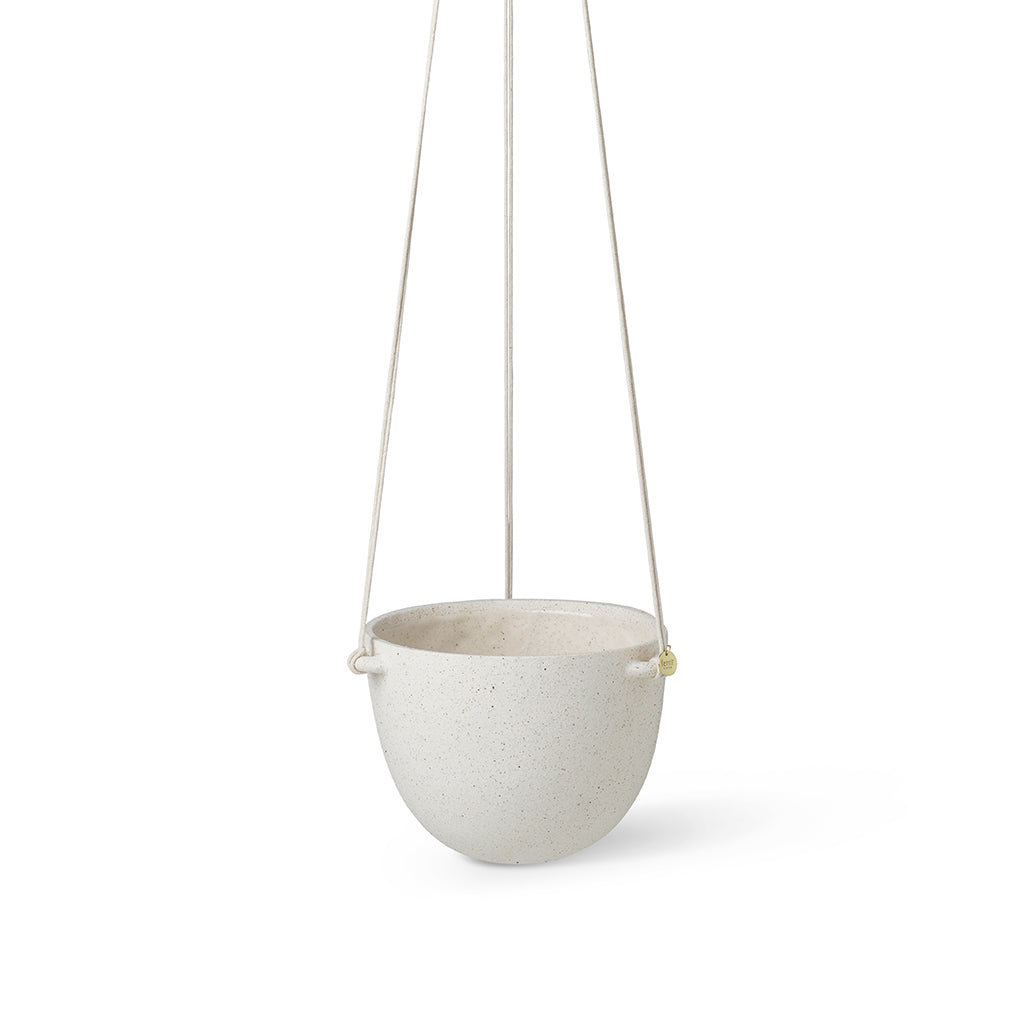 Ferm Living Speckle Hanging Plant Pot - Large - 1