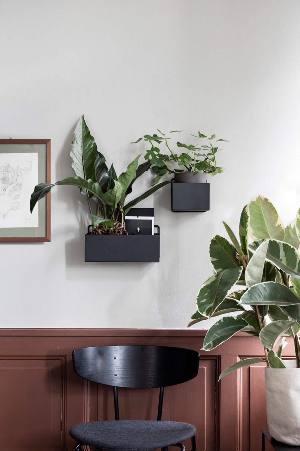 Ferm Living Rectangle Wall Box - Black - 2