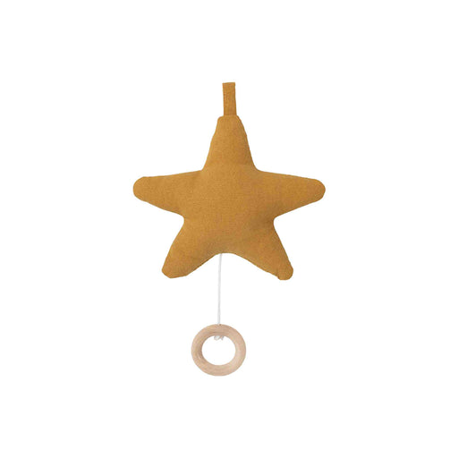 Ferm Living Star Music Mobile - Mustard - 1