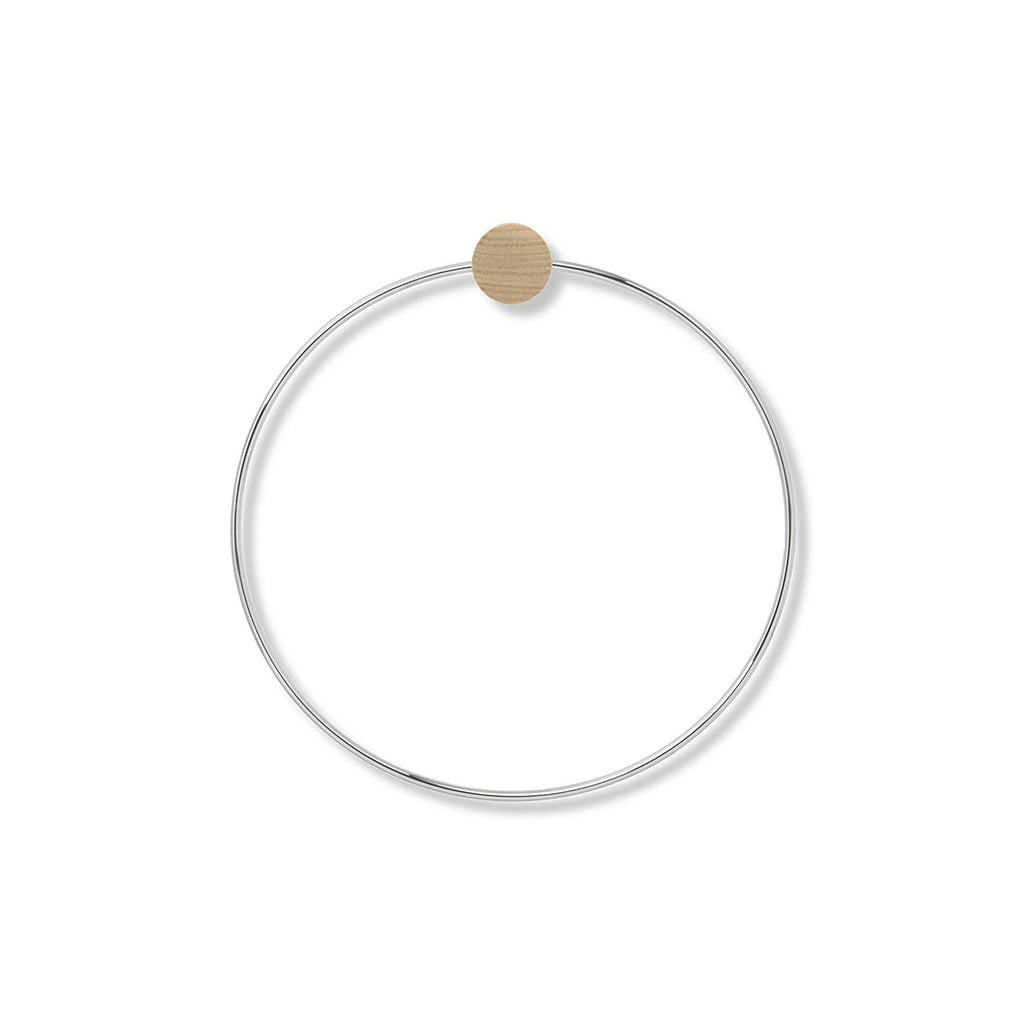 Ferm Living Towel Ring - Chrome - 1