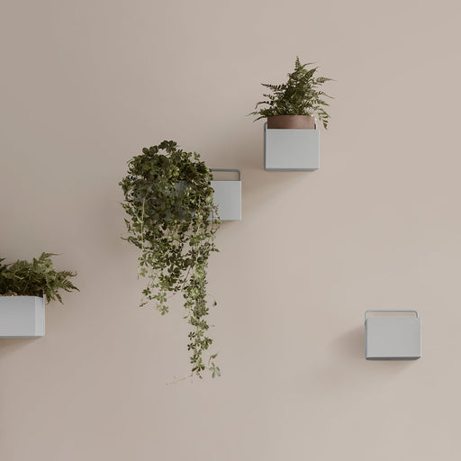 Ferm Living Square Wall Box - Light Grey - 2