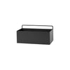 Ferm Living Rectangle Wall Box - Black - 1