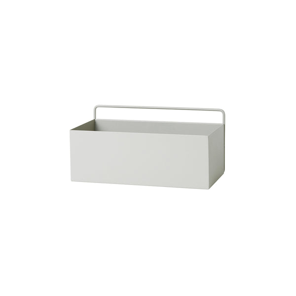 Ferm Living Rectangle Wall Box - Light Grey