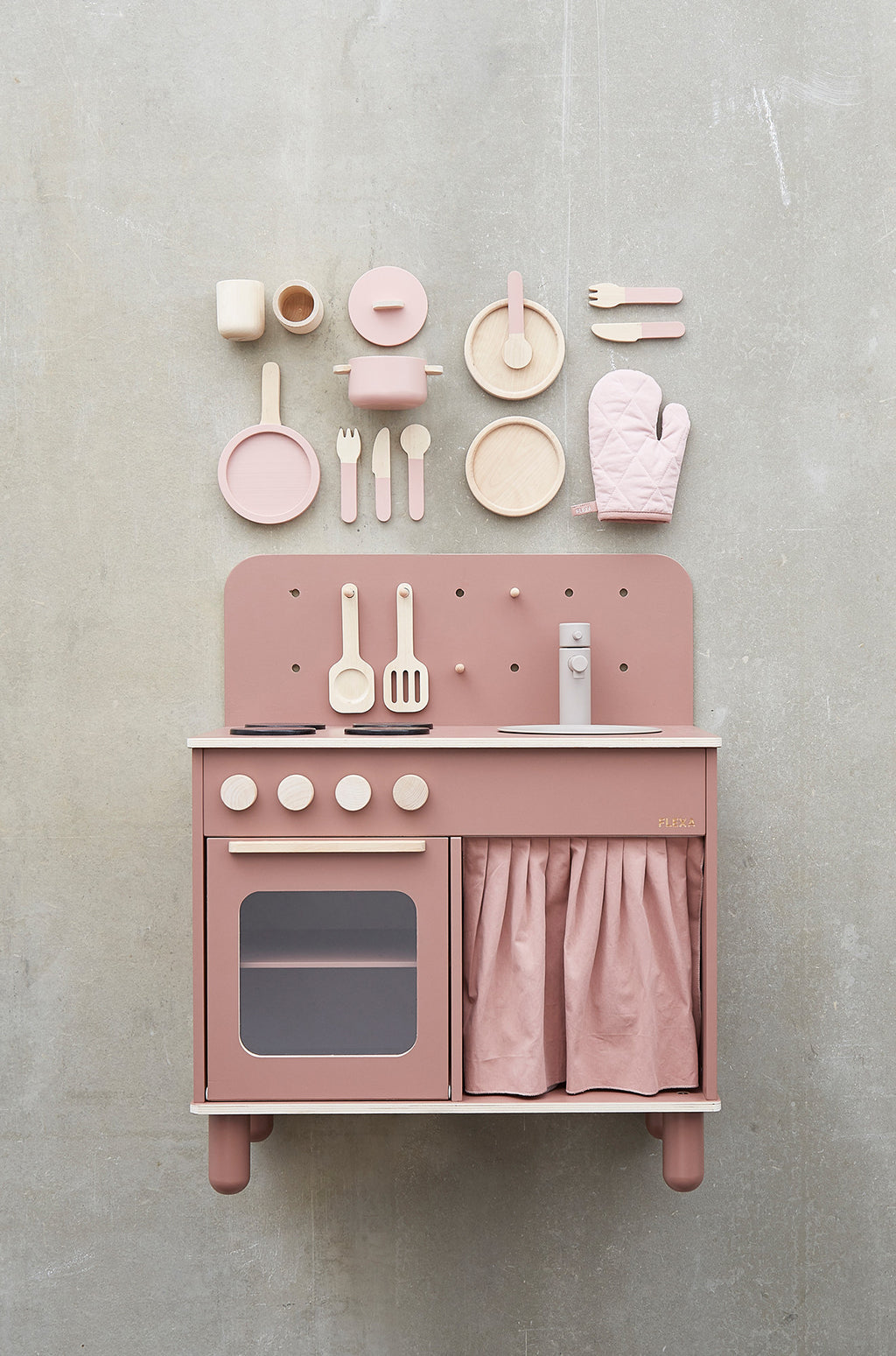 Flexa Rose Play Kitchen - 3