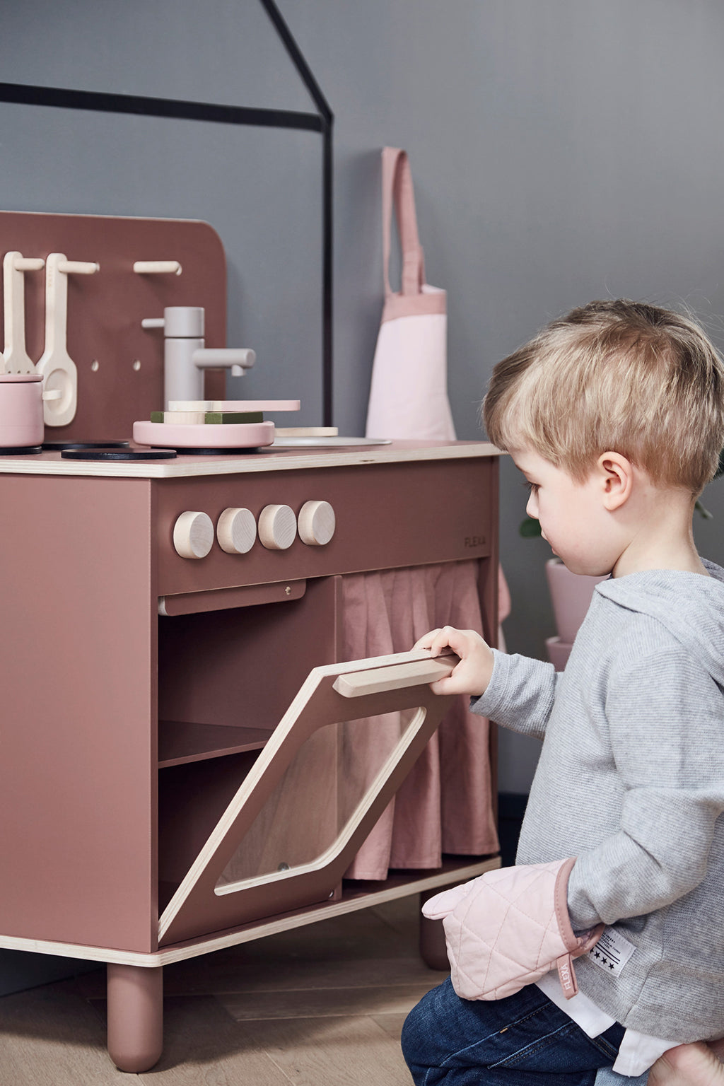 Flexa Rose Play Kitchen - 7