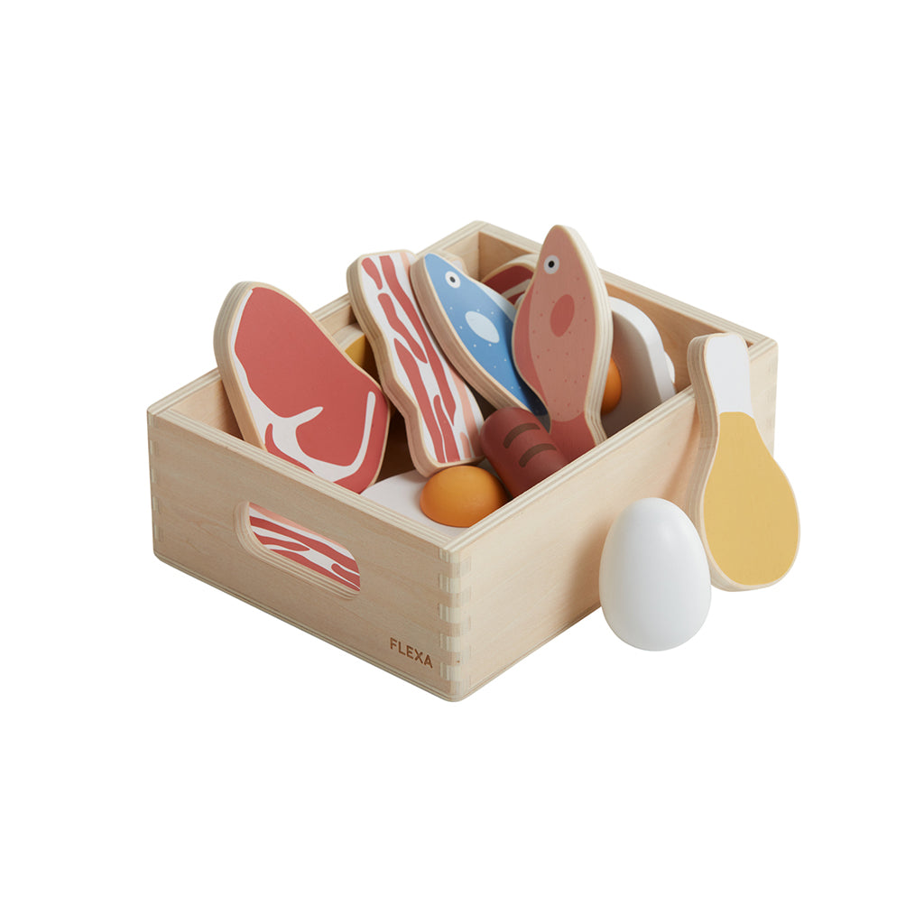 Flexa Toy Fish & Meat Set - 1