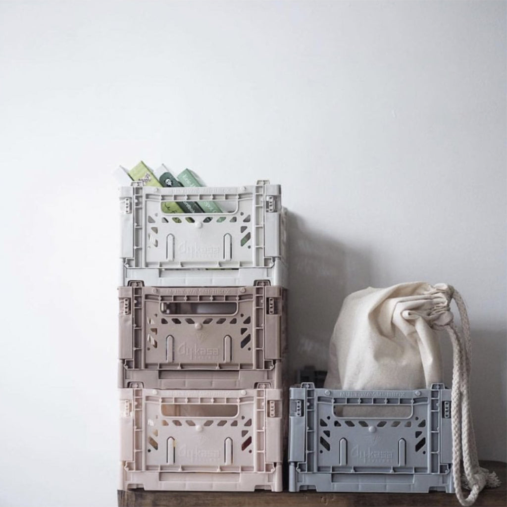 Aykasa Mini Crate - Pale Blue - 2