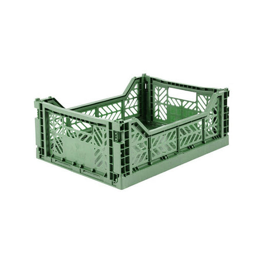 Aykasa Midi Crate - Almond Green - 1
