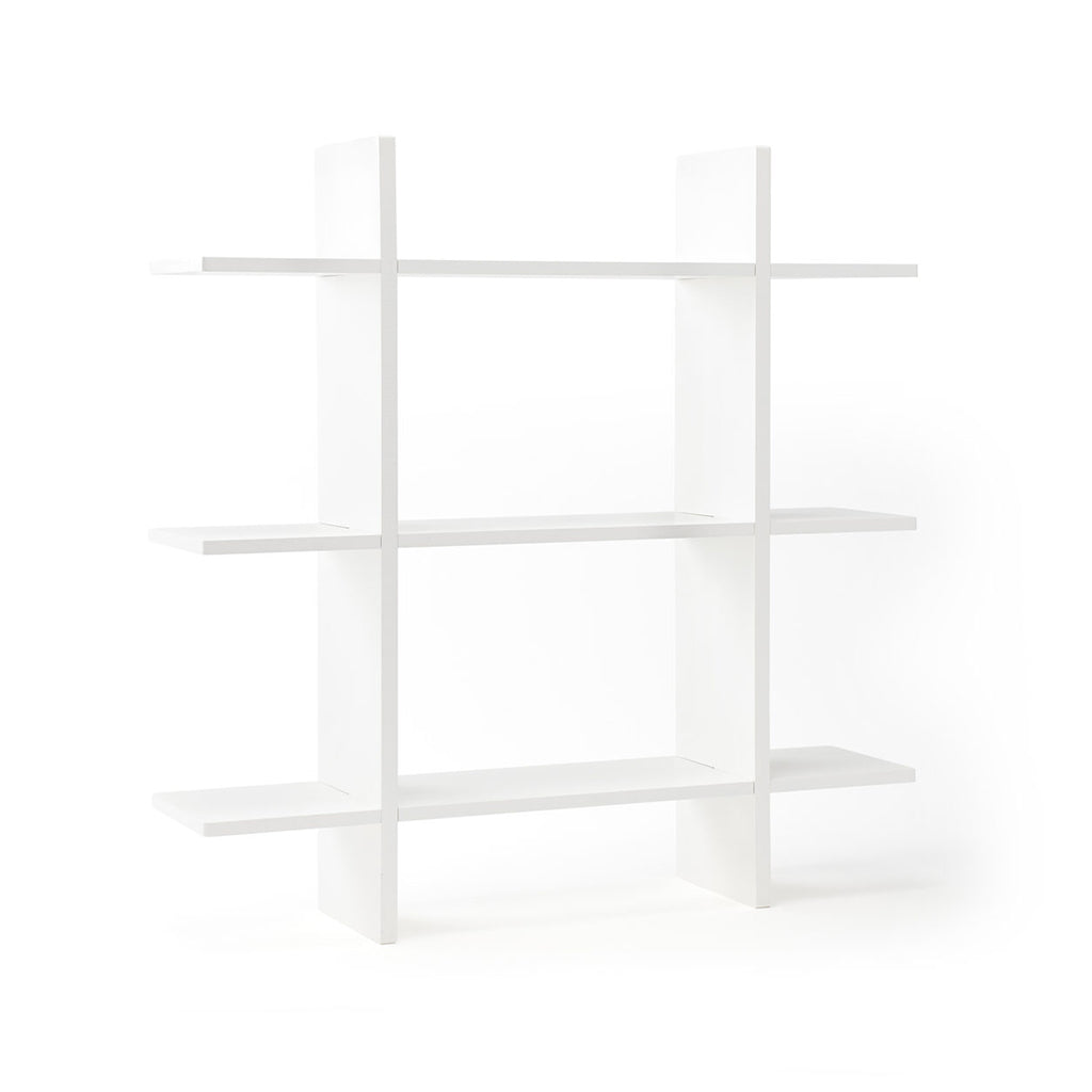 Kids Concept 3 Level Wall Shelf - White - 1