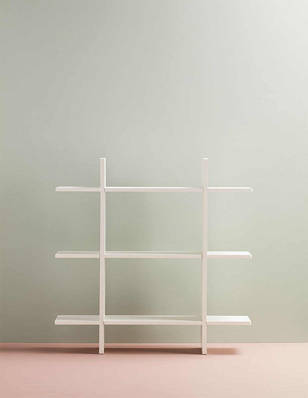 Kids Concept 3 Level Wall Shelf - White - 2