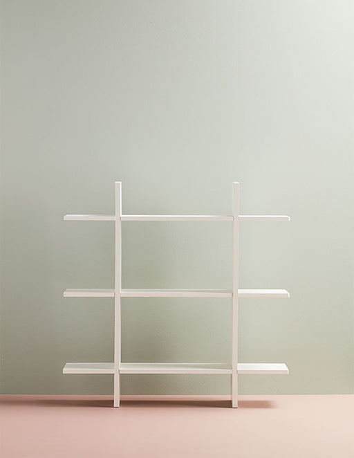 Kids Concept 3 Level Wall Shelf - Light Green - 2