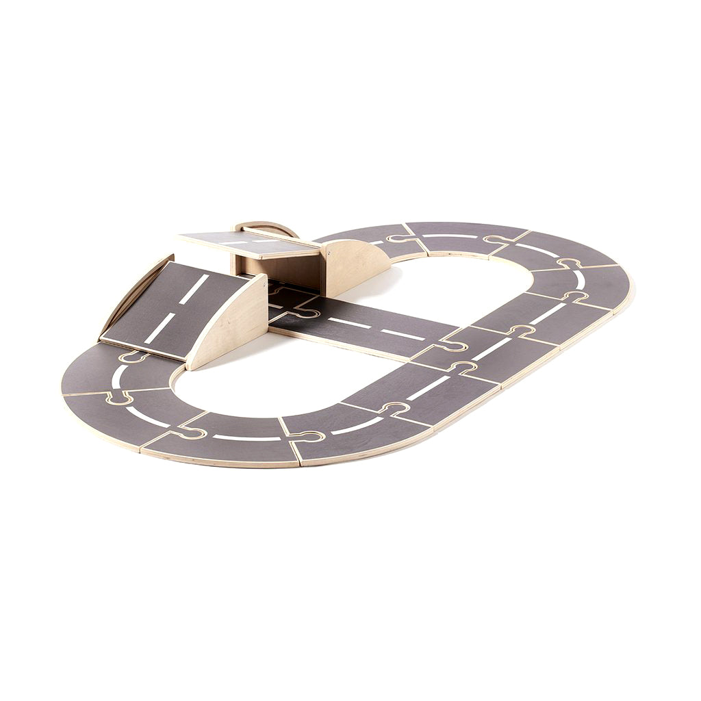 Kids Concept Aiden Wooden Car Track - 1