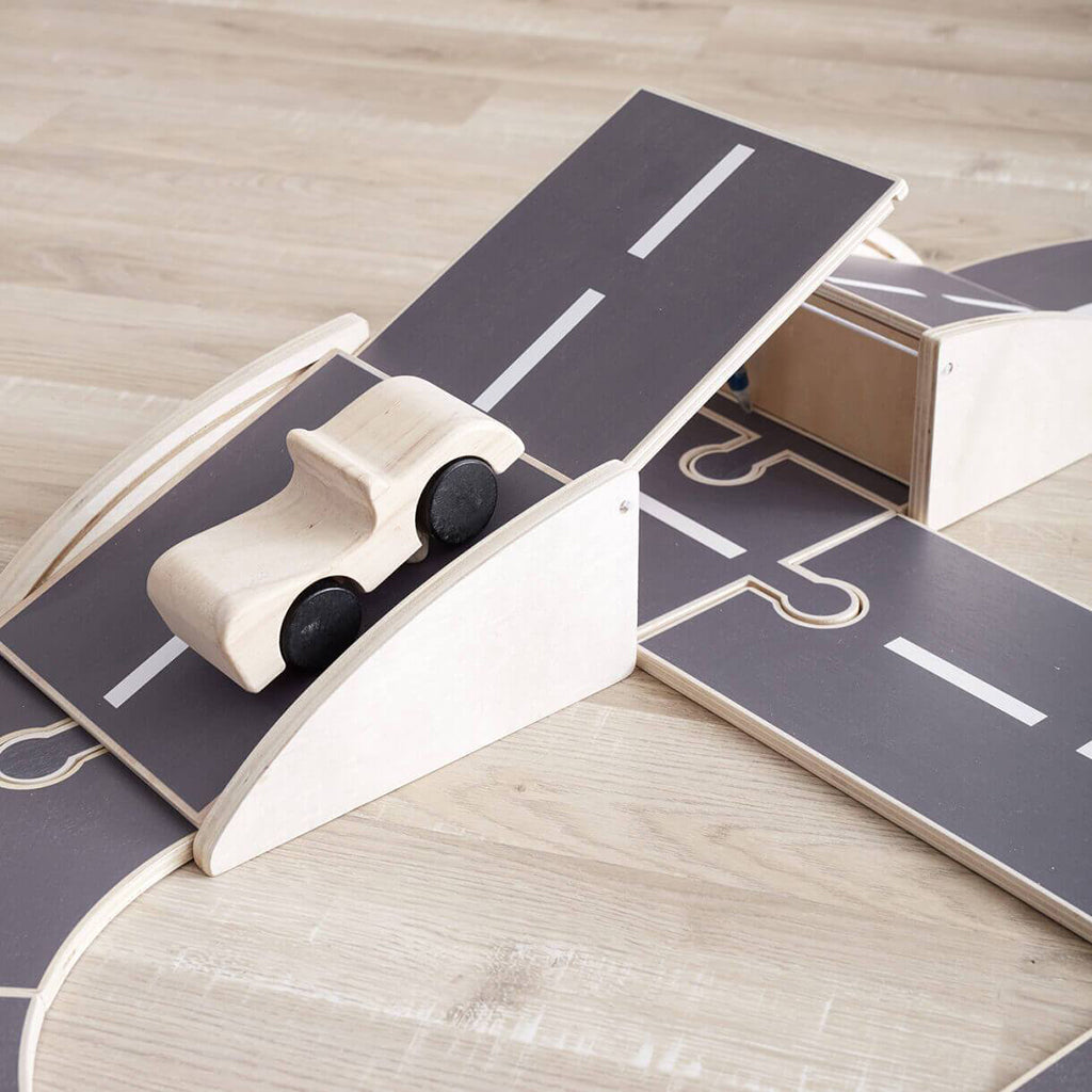 Kids Concept Aiden Wooden Car Track - 2